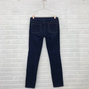 Tory Burch Super Skinny Jeans Embroidered Pocket